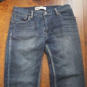 Washed jeans levis knit jean